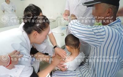 刘红霞为儿童诊断